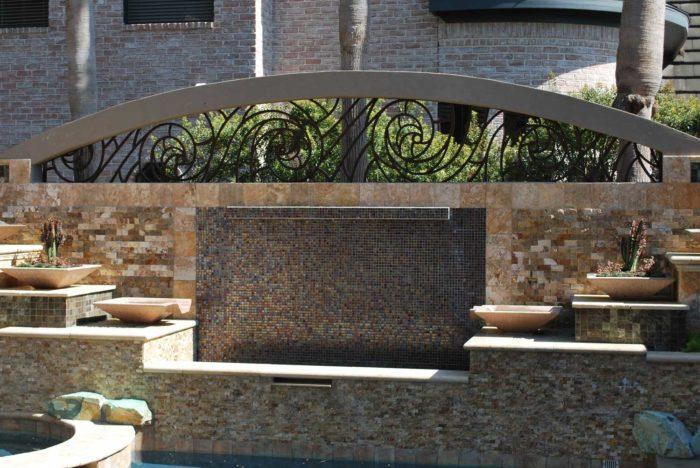 fountain in garden space outdoors