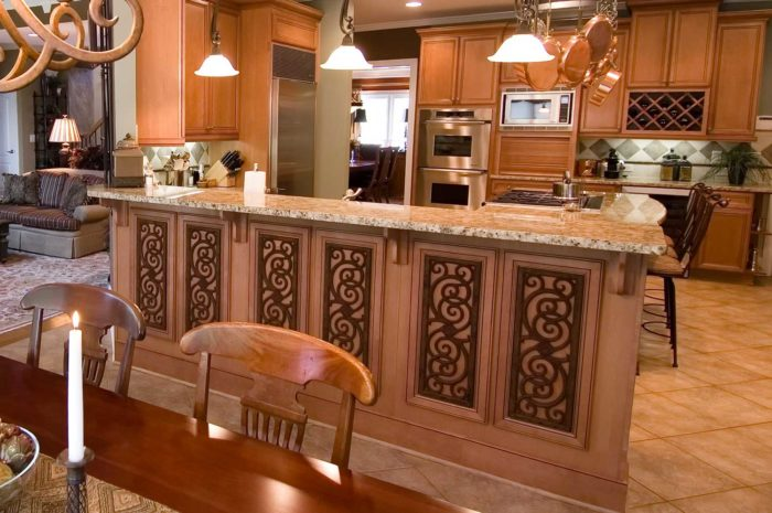 kitchen with kitchen counter
