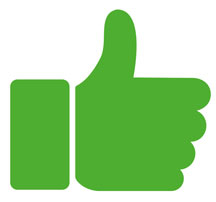 Thumbs Up Review